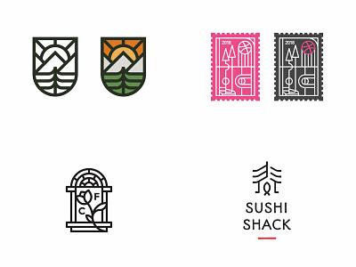 Top 4 shots 2018 badge top4shots lineart simple logo