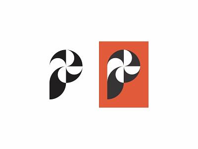 Pinwheel pinwheel modern icon simple logo