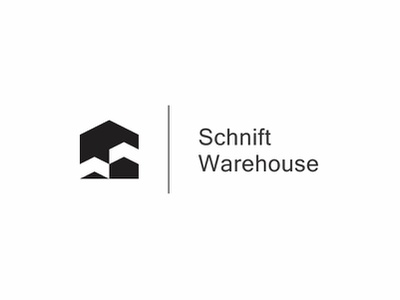 Schnift Warehouse architecture building house clean modern simple logo