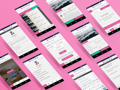 Click&Boat Mobile app Redesign  redisgn mobile ui android