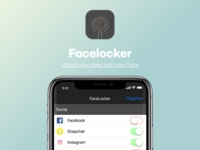 Facelocker IOS