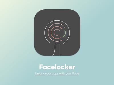 Icon Facelocker IOS facelocker icon faceid iphone x ios