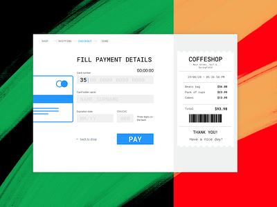 Checkout uiux web forms card checkout ui design ui