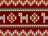 Sweater: thematic covers for articles.