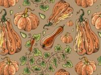 Pumpkin pattern