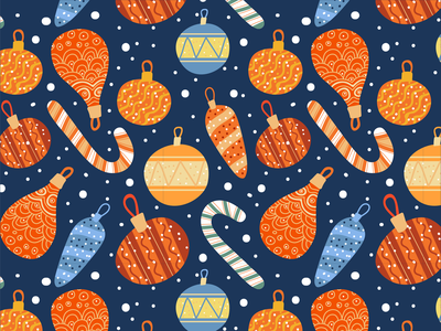 55 christmas x-mas winter illustration pattern