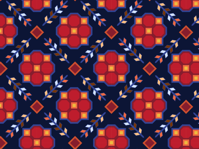 Pattern #72 daily challange carpet pattern