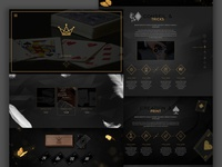 Parallax Theme Design - Luxury Game Cards
