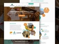 Craftsmen Quality Builders Website Design