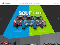 Scuf gaming home page   3