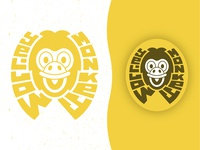 """Yellow Monkey"" Logo design"