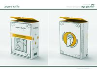 """The Alchemist"" box packaging"