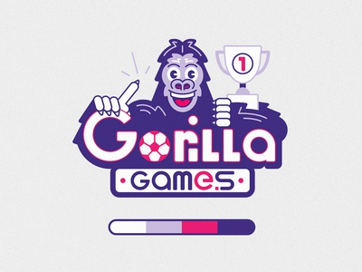 Gorilla Games Logo Design