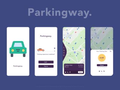 ParkingWay - Parking Application