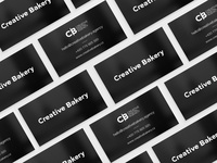 Creative Bakery   Business Cards Concept