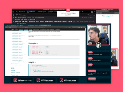 Layout Twitch Developer - Marco Bruno (CollabCode) stream layout live twitch