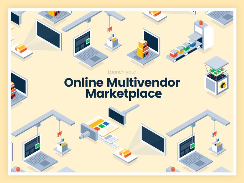 Online multivendor marketplace