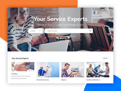 YoPro Homepage Concept