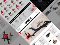 Sports e-Commerce Shop Powered by YoKart