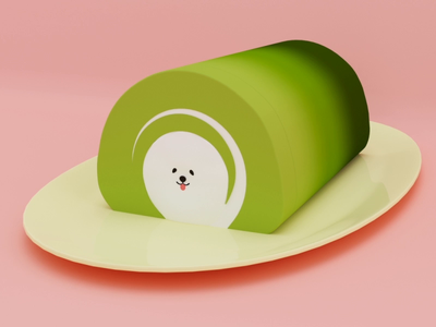 Matcha Inu 🍵🐶 matcha shiba cinema 4d animation 3d