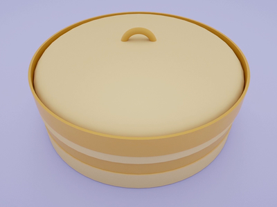 Hidden in plain sight 🐶🥟🥢 dumpling shiba cinema 4d animation 3d