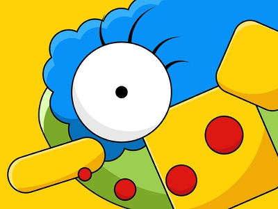 Marge illustration marge design simpsons the simpsons flat vector abstract