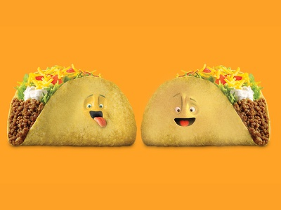 Taco talk food funny photoshop character taco