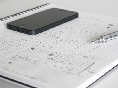 Shopperly Web Sketch dotgrid sketch iphone dotgridbook graphgear flow mobile web