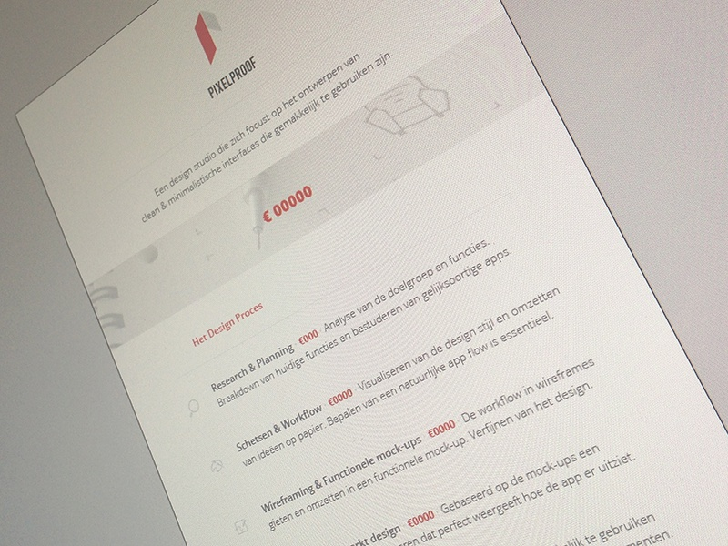 Quote Design quote branding identity process paper print steps minimal white