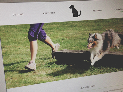St Bavo Website dog dogschool website slider fullwidth muli