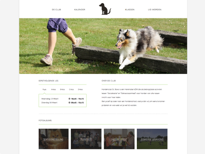 Website dog school website web dog school slider photoalbum photo dogs white clean minimalism muli