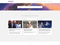 Redesign of Yahoo! Home Page