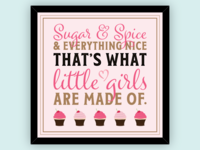 Little Girls Are Made Of