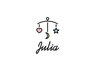 Julia handmade baby cribs logo pastel cute kid baby cribs handmade babycribs