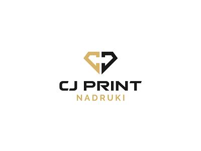 CJ PRINT logotype logotype advertising print