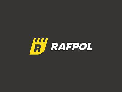 RAFPOL logotype logo heavy ground building constructions excavator