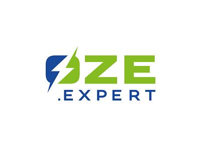 OZE photovoltaic EXPERT logo oze energy sun photovoltaic