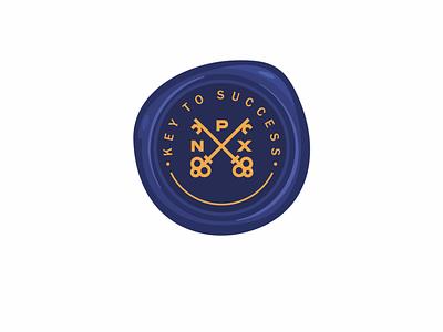 NPX royal logotype illustration branding logotype logo minimal