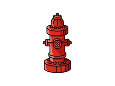 Hydrant fire flames red water firefighters fireman hydrant