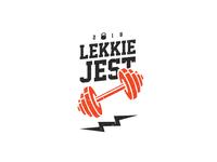 Lekkie Jest - Crossfit team logotype