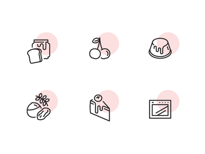 Crumbl cookies icons