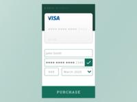 Kristoffer Daniels Daily UI 002 Credit Card