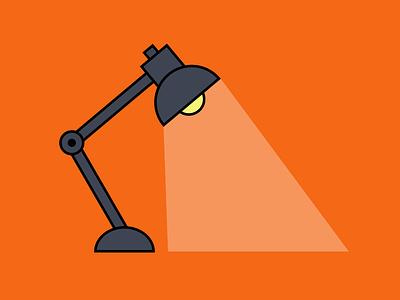 lamp lamp light 2d illustration