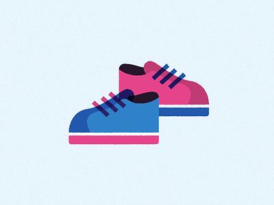 shoes sneaker illustration lace shoes