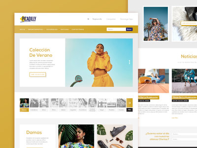 Picadilly - Web Design