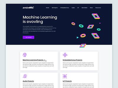 Landing Page Exploration branding illustration interface homepage design web design concept web minimal landing page