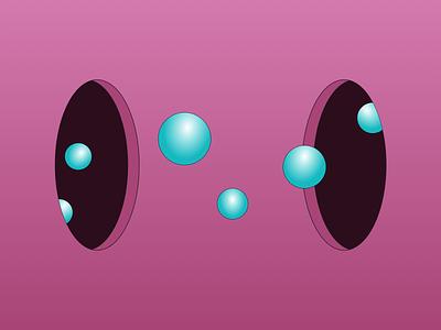 Bubbles vector branding ui design concept illustration web minimal bubbles