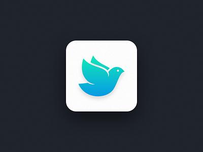App Icon Exploration - 01 gradient minimal messager ios icon message icon ios app app icon exploration - 01