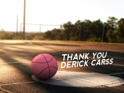 Thank You first shot dribbble composite camera projection debut cinema4d 3d
