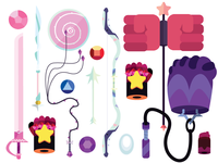 Crystal Gems basic kit to defend the Earth